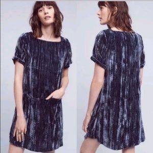 Athro Floreat velvet dress